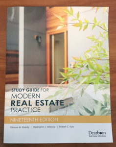 Study Guide fofr Modern Real Estate Practice